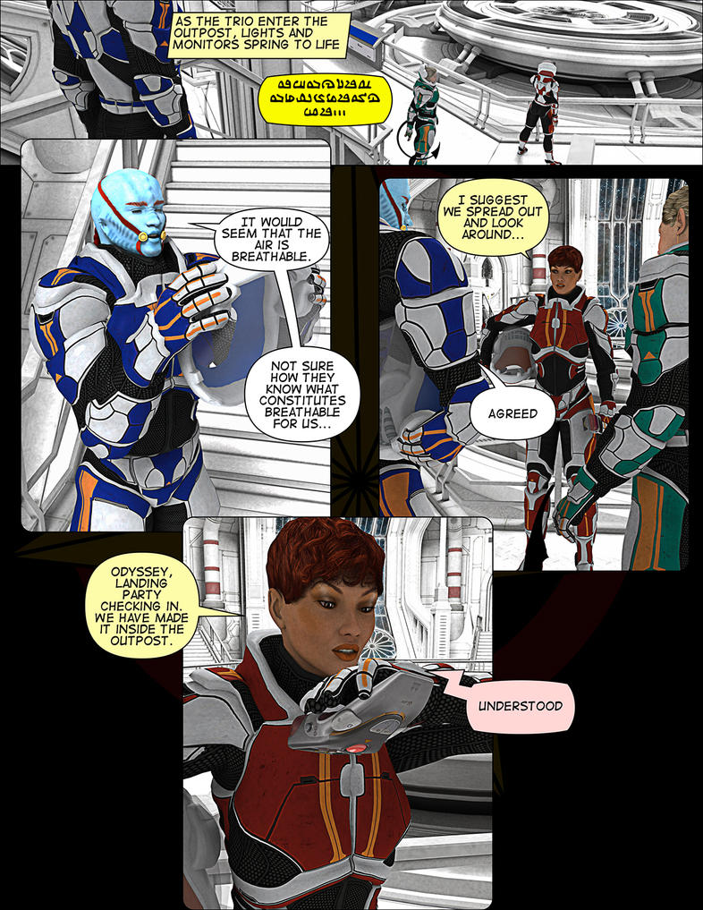 Issue #03, Page 15 by grfk-dsgn