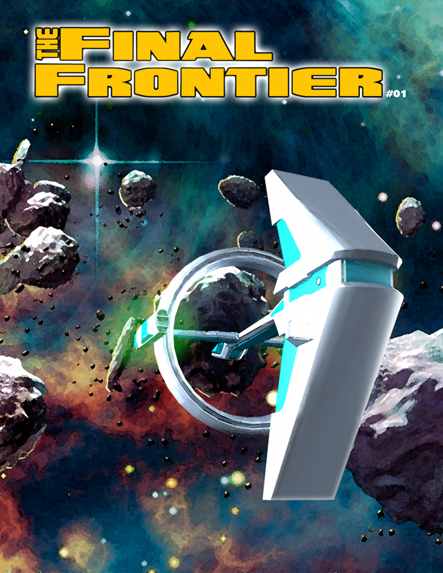 The Final Frontier Issue #01 by grfk-dsgn