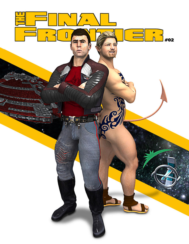 The Final Frontier Issue #02 by grfk-dsgn
