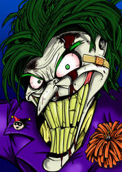 Beaten Smile - Now in Color by BoskoComicArtist