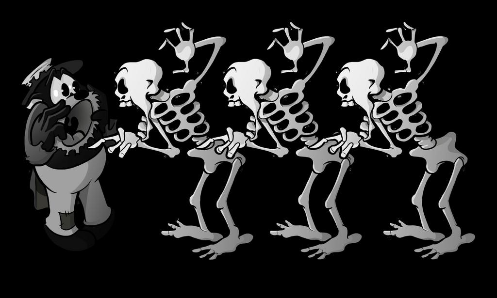 1931 - Uncle Tom 'n Skeletoons by BoscoloAndrea