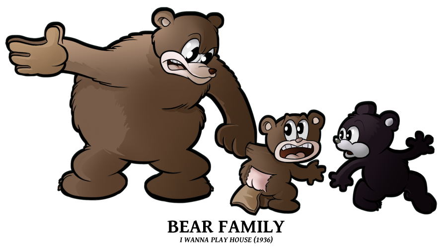 1936 - Bear Family by BoscoloAndrea