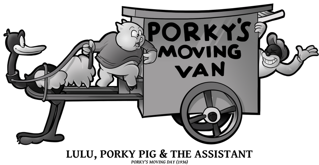 1936 - Lulu, Porky n Assistant by BoscoloAndrea