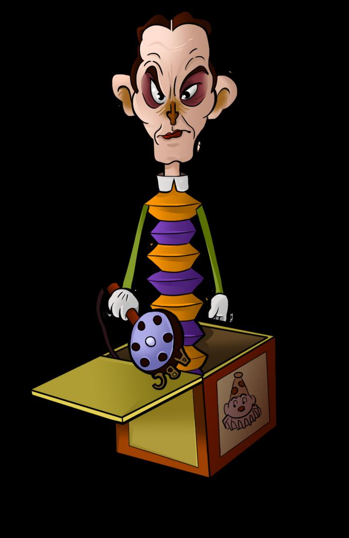 1936 - Fred Allen in a Box by BoscoloAndrea