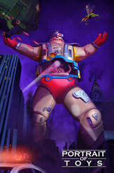 Portrait of Toys - Krang's Giant Android Body