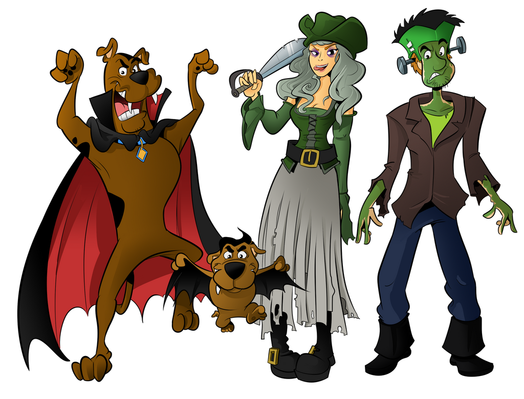 commission scooby doo halloween special by boscoloandrea