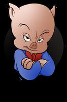 25 Looney of Christmas 2 - Porky Pig by BoscoloAndrea