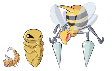 G1 Pokedex - Bees