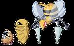 G1 Pokedex - Bees