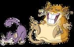 G1 Pokedex - Rats