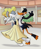 Commission - Freduck Astaire and GingHare Rogers by BoscoloAndrea