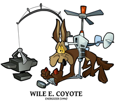 Advertise - Wile Coyote by BoscoloAndrea