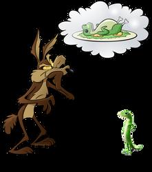 AD - Wile E Coyote by BoscoloAndrea