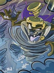 Commission - God of tornadoes