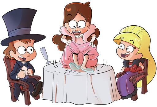 Commission-Gravity Falls The First Time It Happens