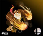 SSB - 02 - Donkey Kong by BoskoComicArtist