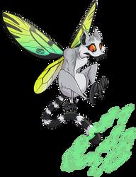 Commission - Robo Beast - Flutterlemur