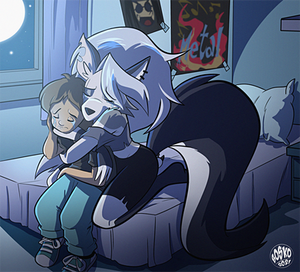 Commission - Comforting Cody