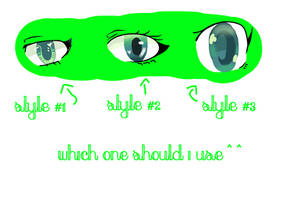 Eye Style Test { READ THE DESCRIPTION } by Ayda-Te-Pacifist