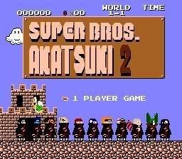 super akatsuki bros 2.1 by gaara-gamer