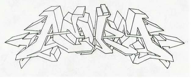 acura battle outline by faro