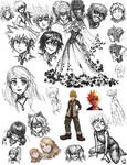 Dump of the Sketches