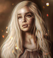 Daenerys Targaryen - Game of Thrones by iCookieday