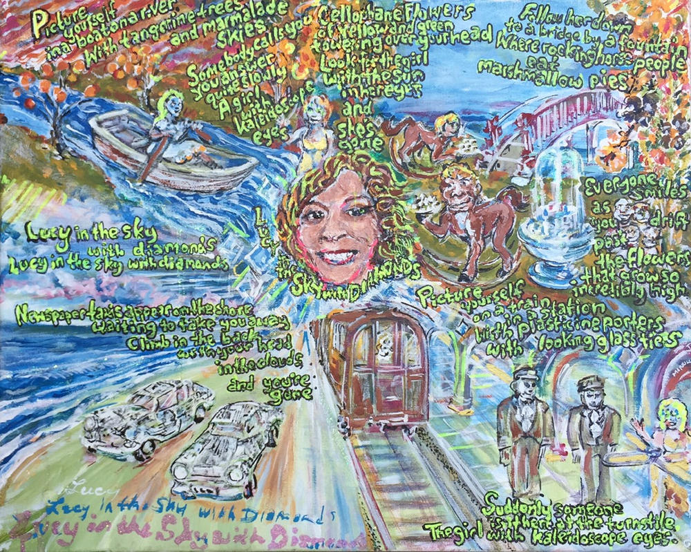 lucy in the sky with diamonds by jonathanmorrill on deviantart