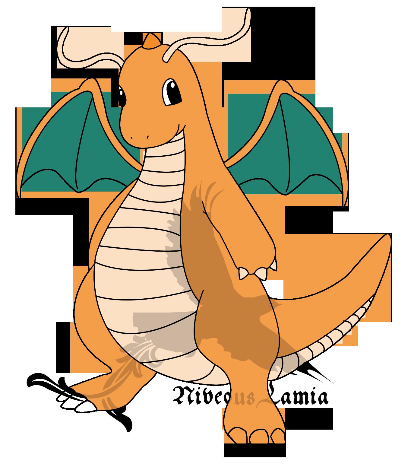 Feliz Cumpleaños Zhap, Zheldo y Lhynk !!! Dragonite_by_niveouslamia-d4visii