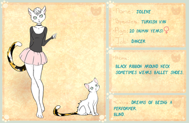 Kitty Katty Citty Jolene app by NiveousLamia