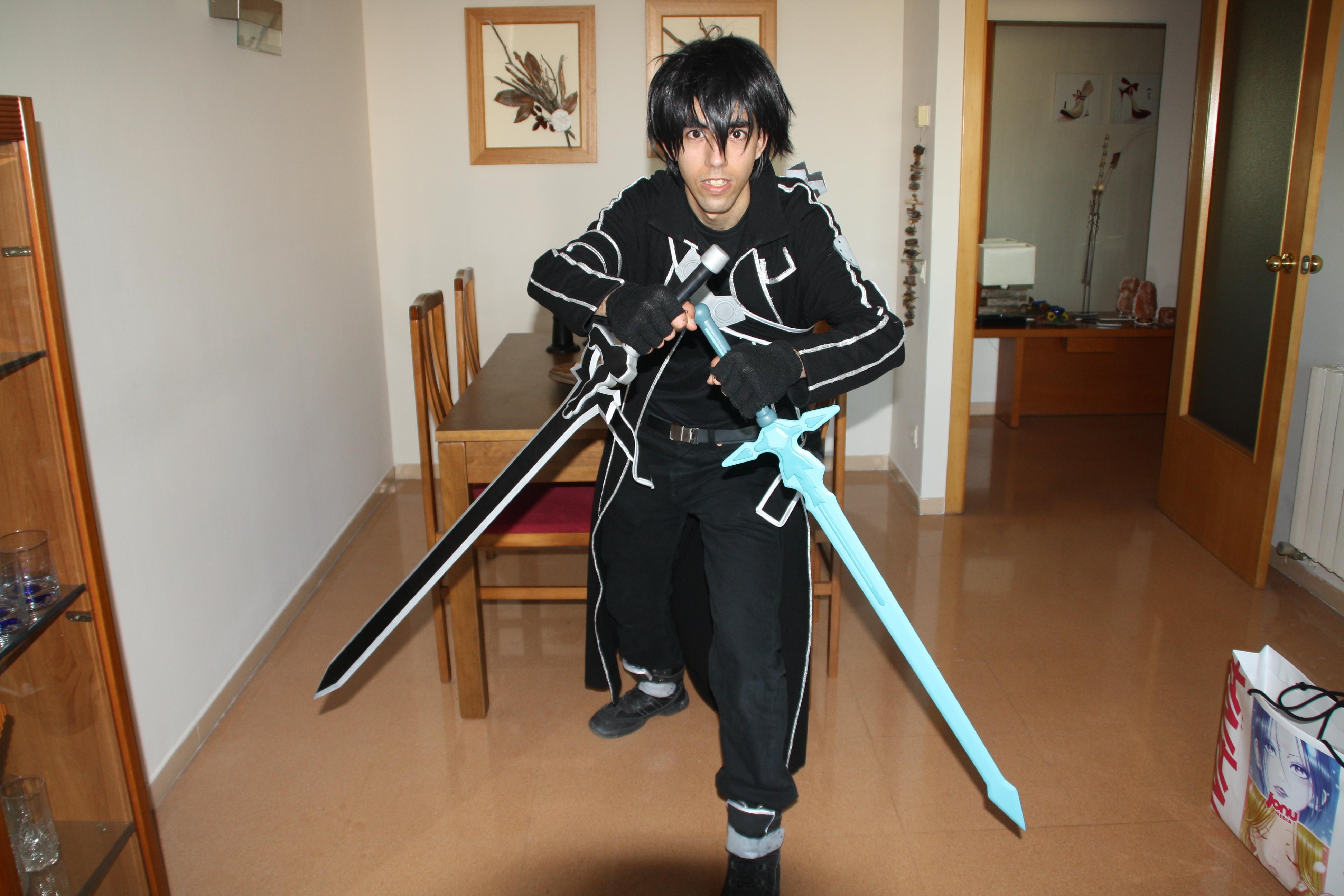 My friends Kirito cosplay
