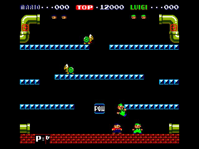 Mario Bros head stomped Both by flynn1978