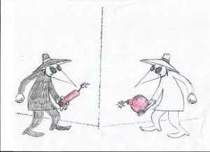 Spy vs Spy Halloween 2