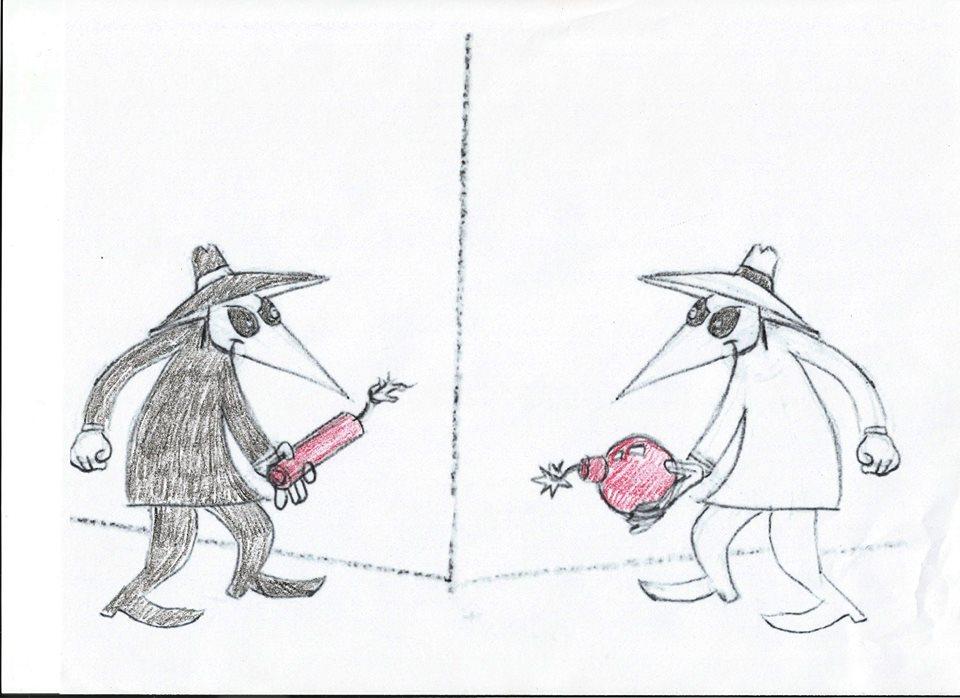 Spy vs Spy Halloween 2 by flynn1978