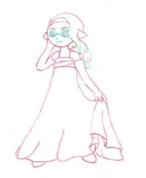 Inkling Girl Elegant Splatoon 2