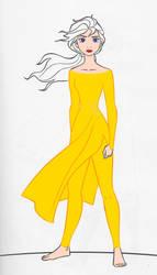 Elsa Frozen ][ in yellow