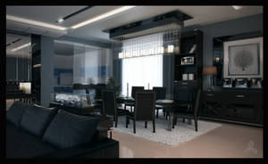 Dining + Kitchen by RVNARCH