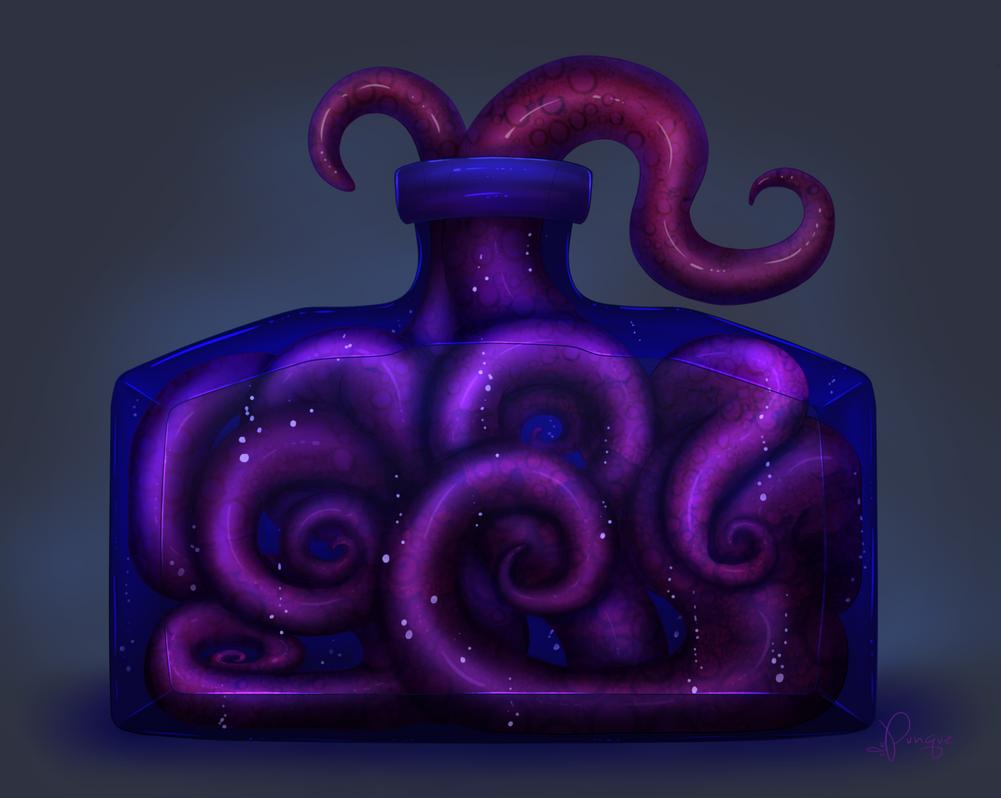 Bottled Tentacles by SLAPunque