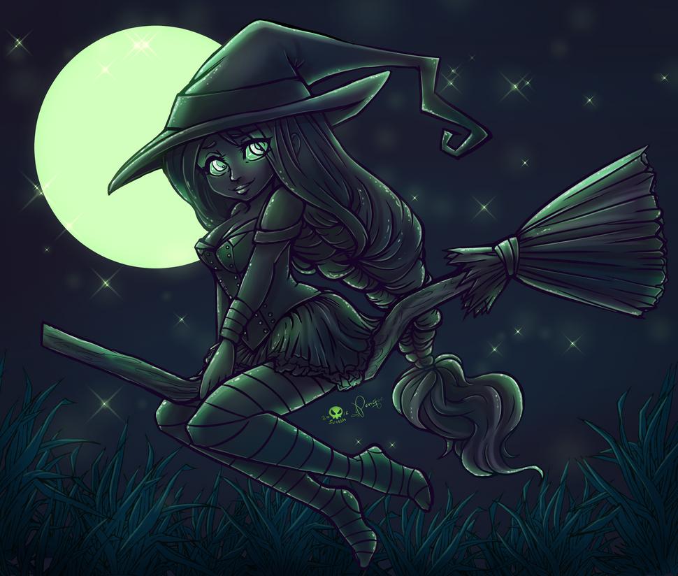 Witch Cutie by SLAPunque