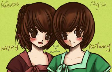 Twins. by kurohatea