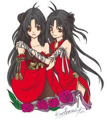 Tir and Syldi. by kurohatea