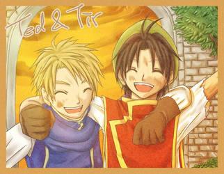 Friend forever. by kurohatea