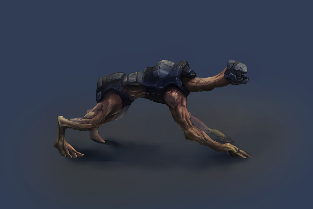 Concept Art 03 Creature by Kettenotter