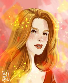 Face Study - Cecilia