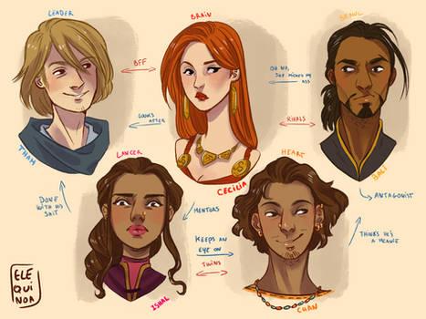 Aataveith - Main Characters
