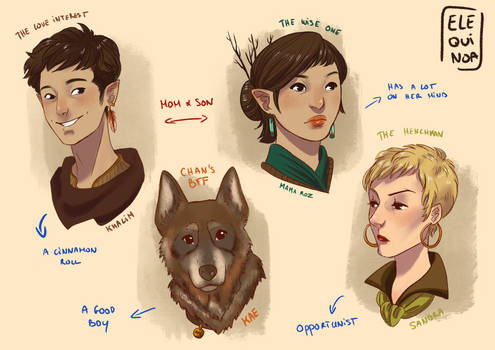Aataveith - Secondary Characters