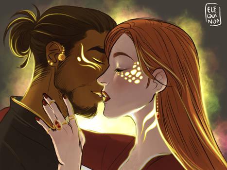 Bali and Cecilia - Magic Kiss
