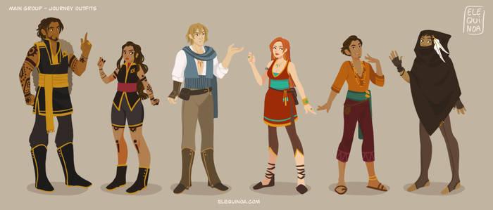 AATAVEITH - Main Characters Lineup