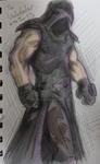 Undertaker sketch 29.7.13