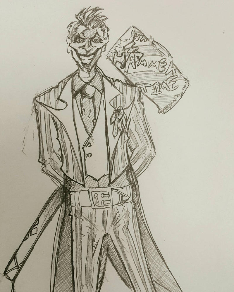 Joker sketch 5.6.17 by itamar050